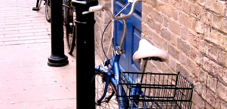 Bicicletta da passaggio a Cambridge