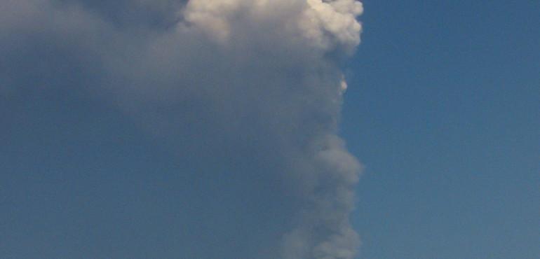 Fumo Vulcano Etna